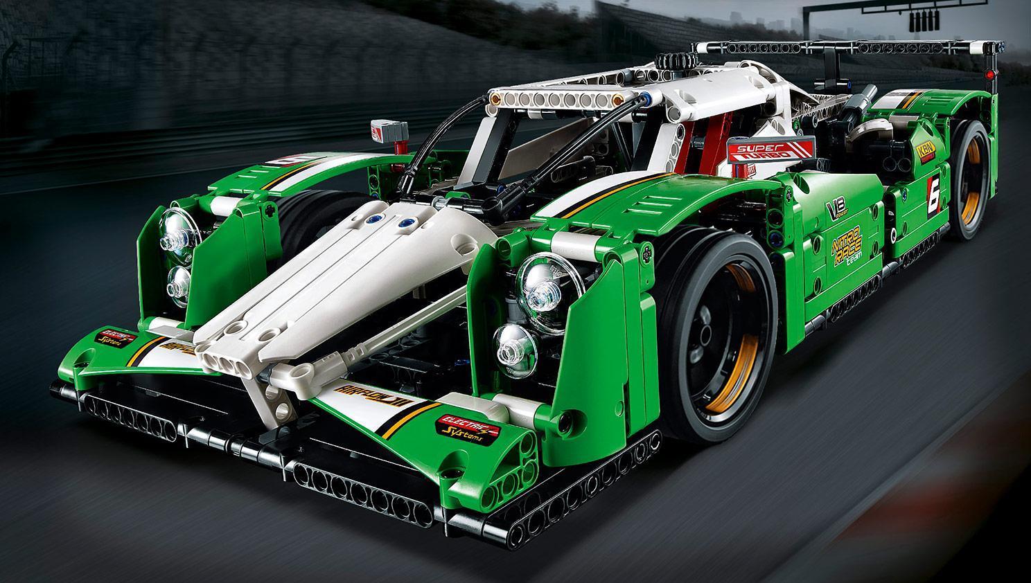 lego 42039 technic 24 hours race car multi coloured. Black Bedroom Furniture Sets. Home Design Ideas