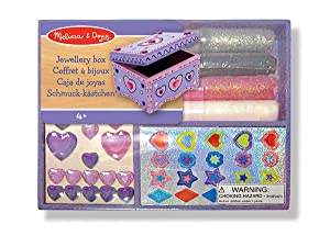 Melissa Doug Decorate Your Own Jewellery Box Amazoncouk Toys