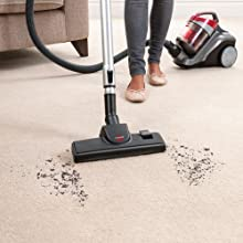 Bissell Powerforce Compact Cylinder Vacuum Cleaner