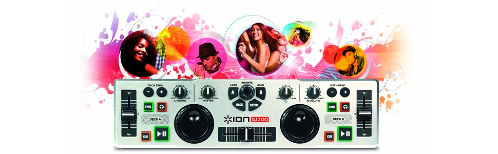 ion idj2go vs numark dj 2 go  software