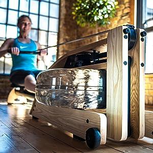 WaterRower, WaterRower A1, Rowing, Rower, Rowing machine, exercise, fluid rower