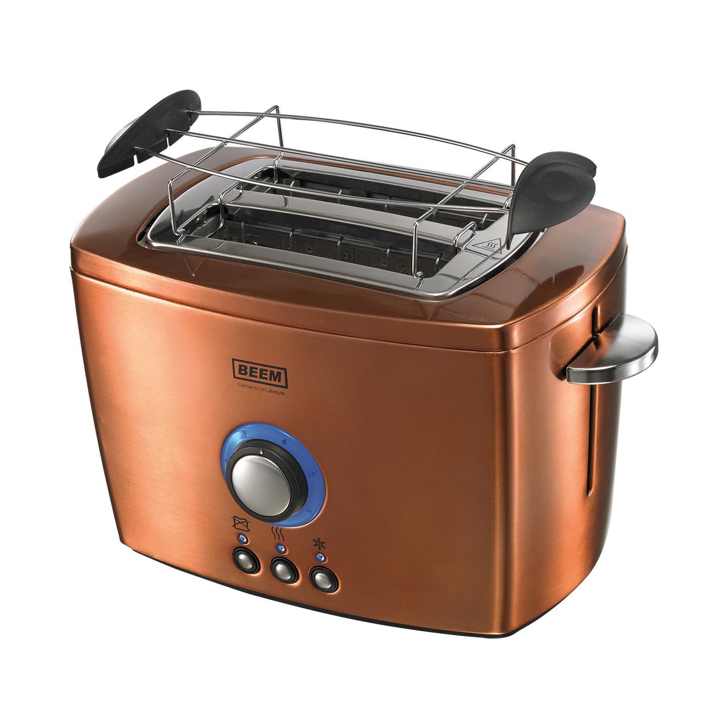 beem germany nobilis toaster 800 watt copper kitchen home. Black Bedroom Furniture Sets. Home Design Ideas