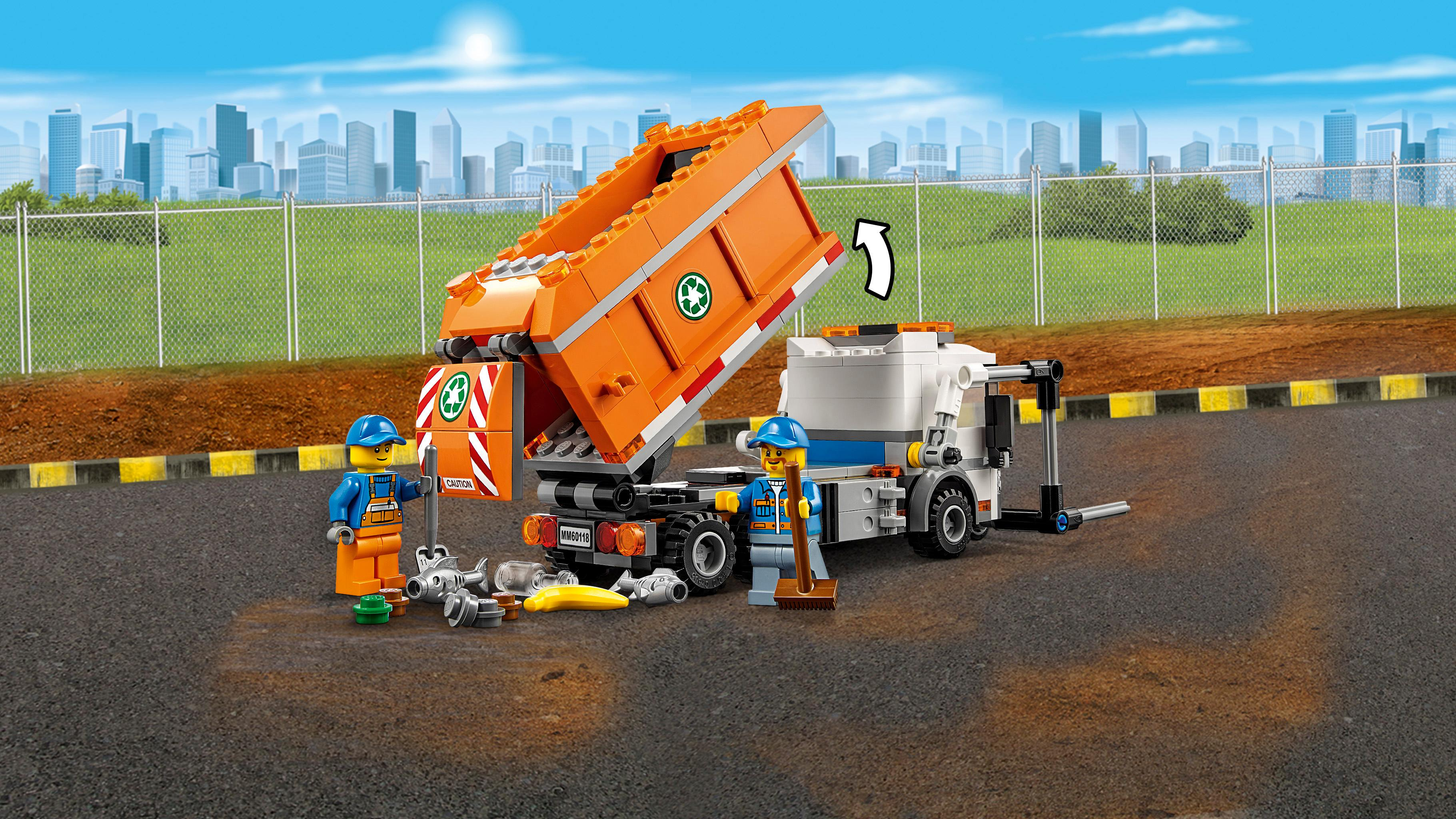 Lego City Great Vehicles 60118 Garbage Truck Playset Lego
