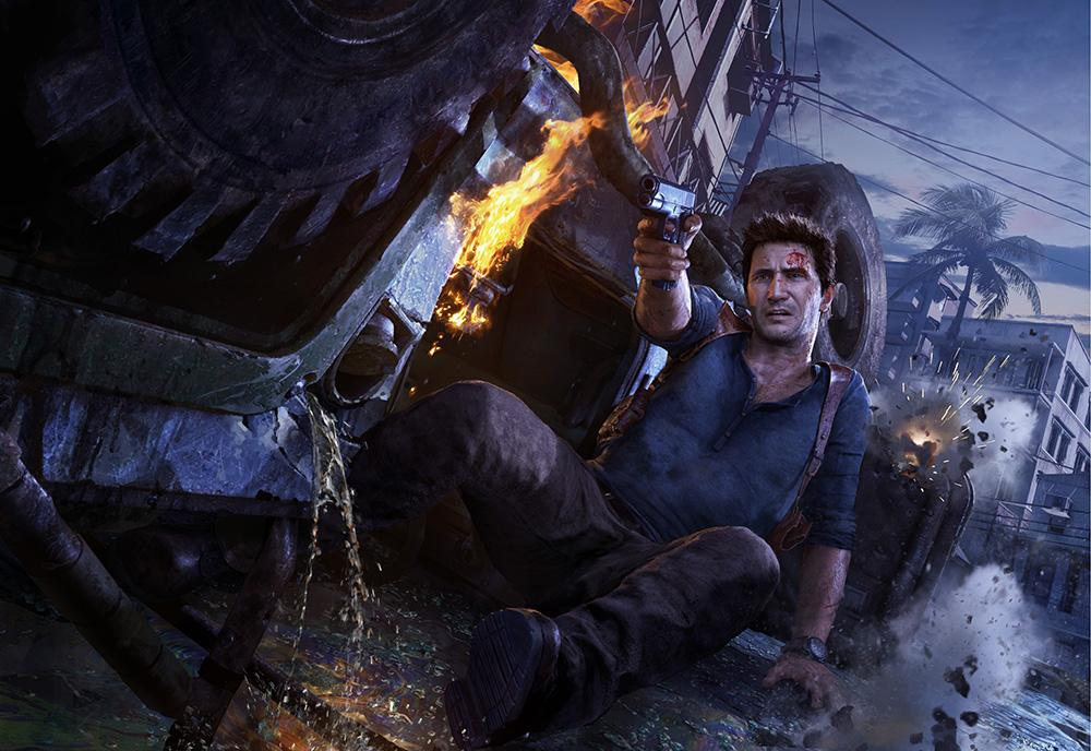 uncharted 4 a thief 39 s end ps4 pc video. Black Bedroom Furniture Sets. Home Design Ideas