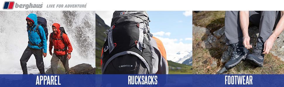 berghaus jackets, berghaus clothing, berghaus footwear, berghaus rucksack, berghaus accessories