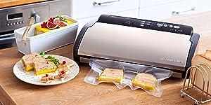 Vacuum sealer,domesetic sealing,sealer,foodsaver,sous vide,sous-vide,fishing machine