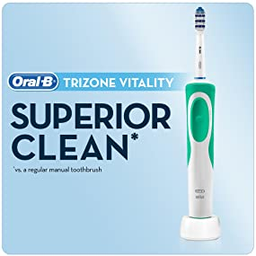 Oral-B Vitality Plus Trizone electric rechargeable toothbrush