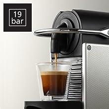 nespresso pixie coffee machine by magimix 11322 aluminium ki. Black Bedroom Furniture Sets. Home Design Ideas