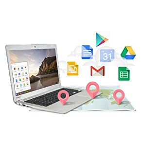The Chrome webstore contains some of your favourite apps, including Google Maps, Hangouts, and GMail
