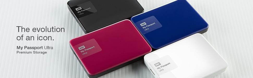 The evolution of an icon: WD My Passport ultra Premium Storage