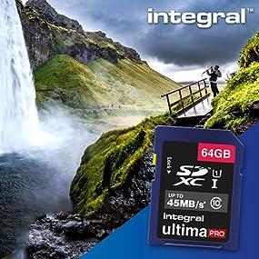 Integral Memory UltimaPro SD memory card