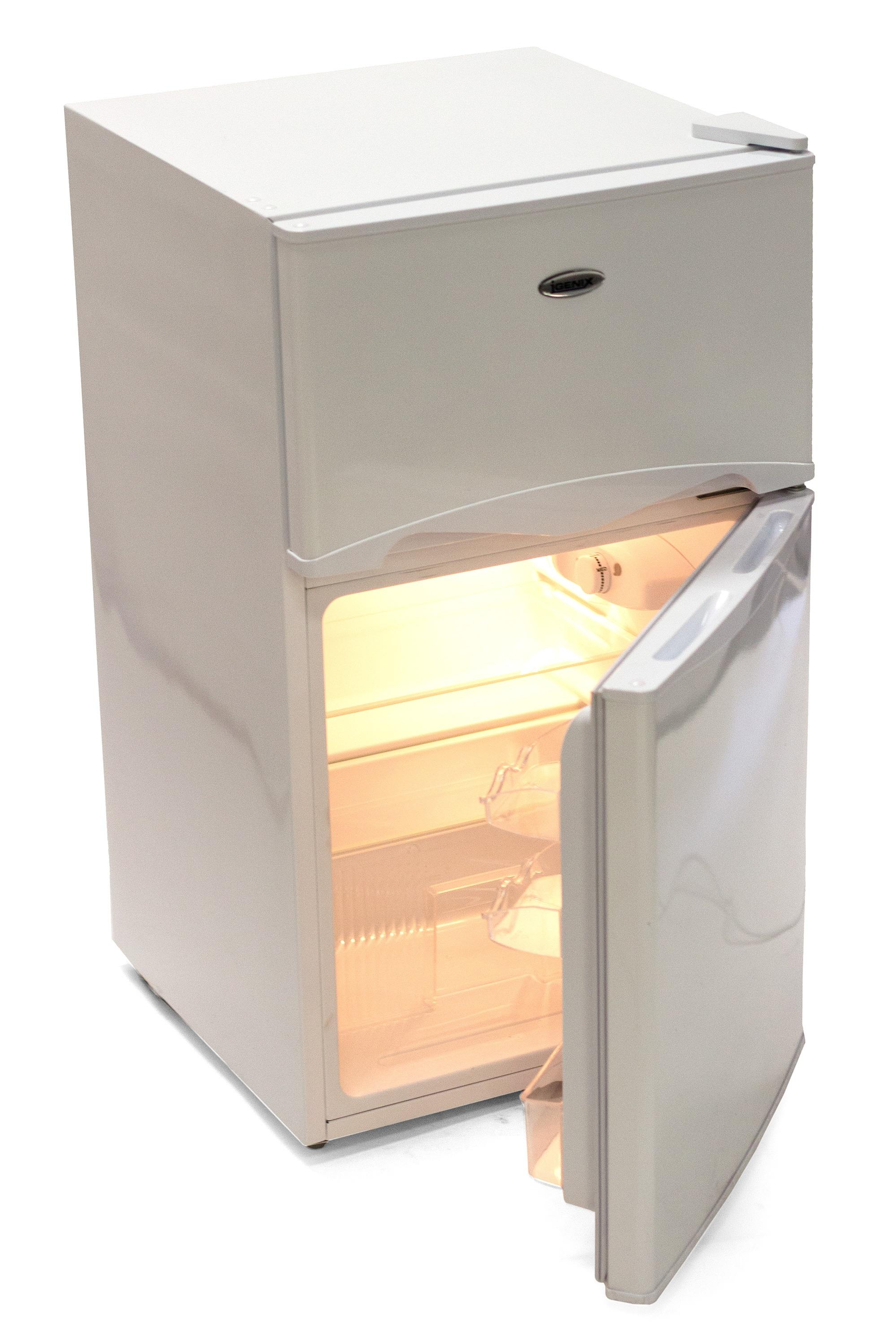 Igenix Ig347ff 47cm Under Counter Fridge Freezer White Ebay
