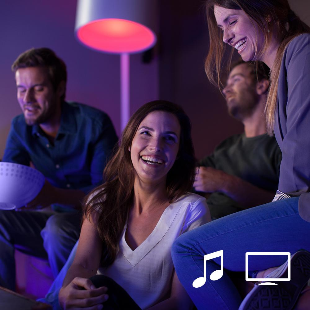 Philips Hue White And Colour Ambiance Wireless Lighting