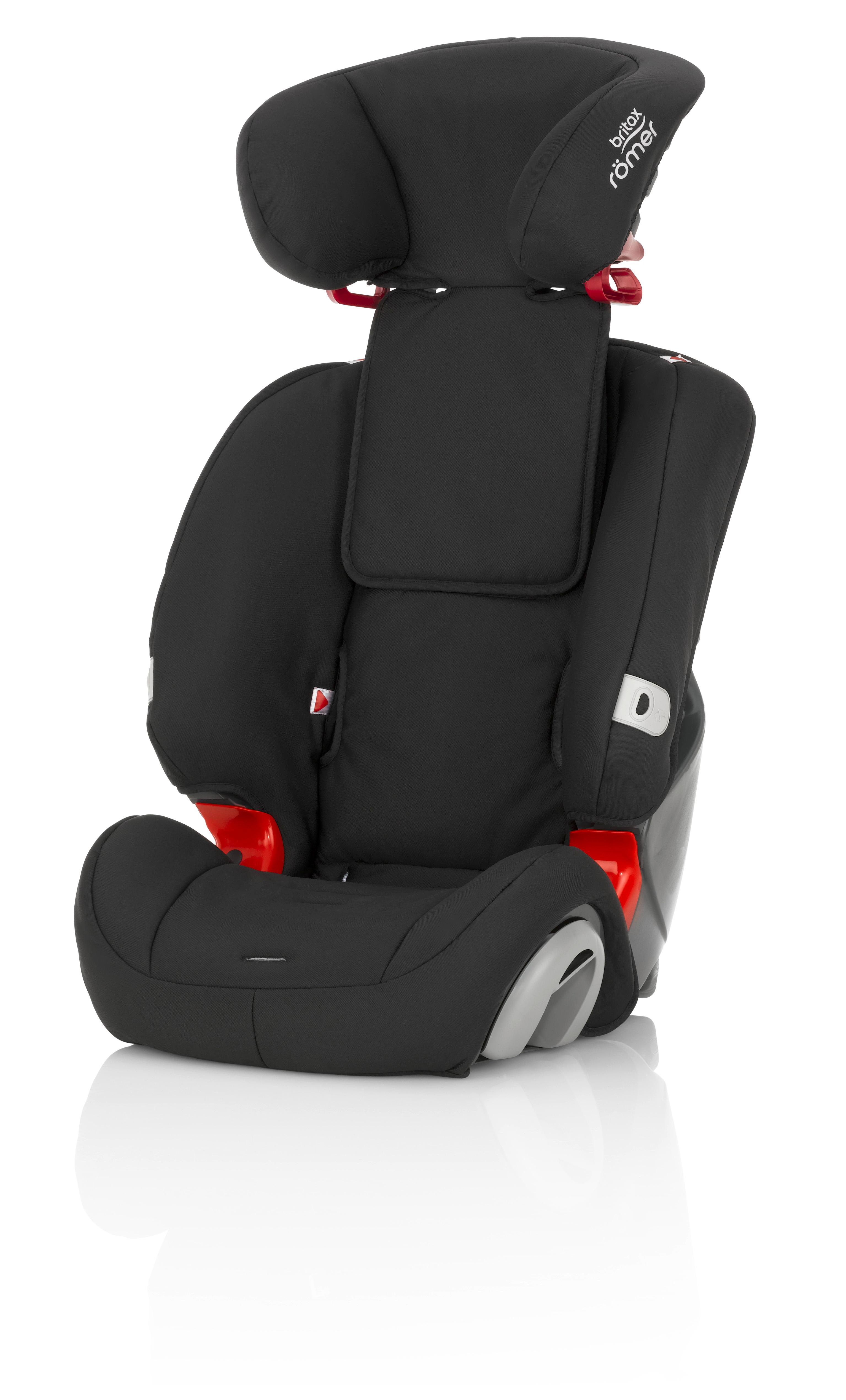 Britax Romer Evolva Car Seat, Group 1/2/3 - Black Thunder: Amazon.co