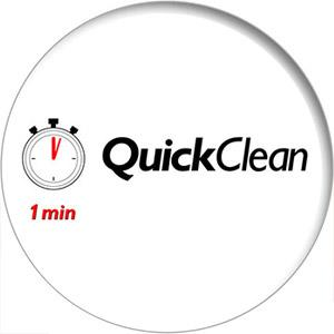 Quick clean--1 minute