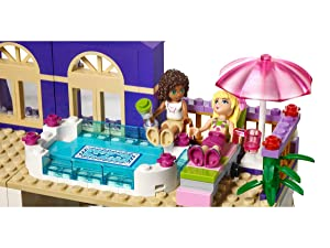 Lego 41101 Friends Heartlake Grand Hotel Amazoncouk Toys Games