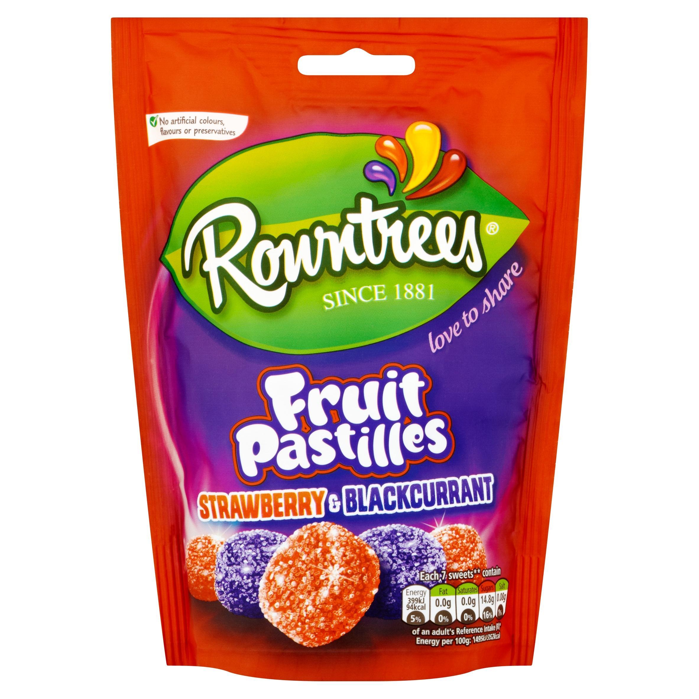 rowntree u0027s fruit pastilles tube 52 5 g pack of 24 amazon co uk