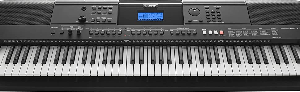 Yamaha psrew400 electronic keyboard musical for Yamaha keyboard amazon