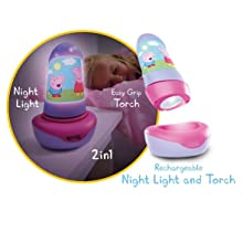 Peppa Pig night light; peppa pig toy; peppa pig lamp; kids night light; kids lamp