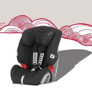 Britax, EVOLVA 123, car seats, 9kg-36kg, side impact protection, grows with your child