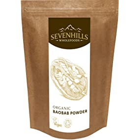 Sevenhills Wholefoods raw organic baobab powder
