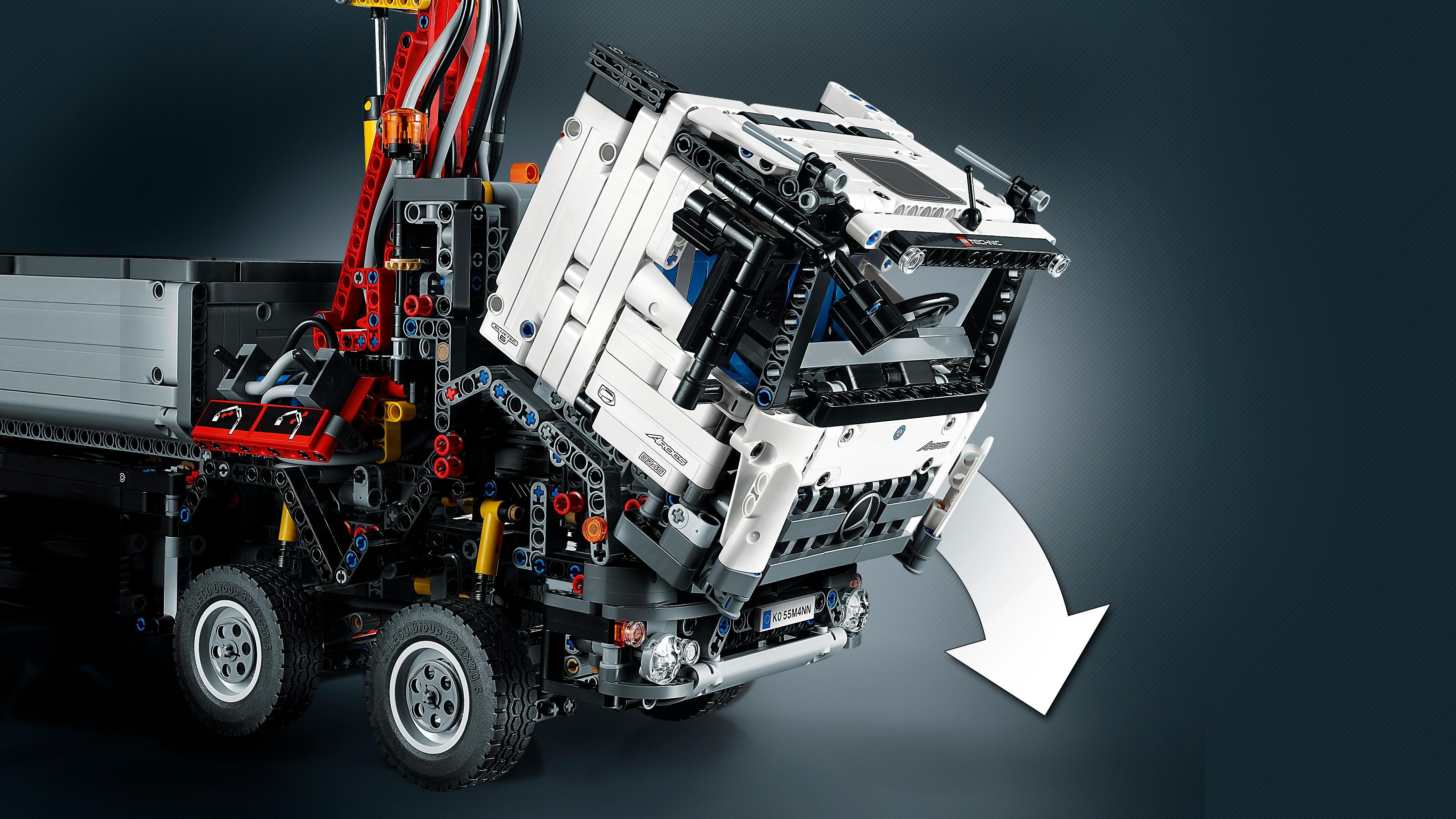 lego technic mercedes benz arocs 42043 brand new sealed fast dispatch 5702015349741 ebay. Black Bedroom Furniture Sets. Home Design Ideas