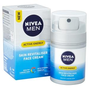NIVEA for men, mens moisturiser, face cream