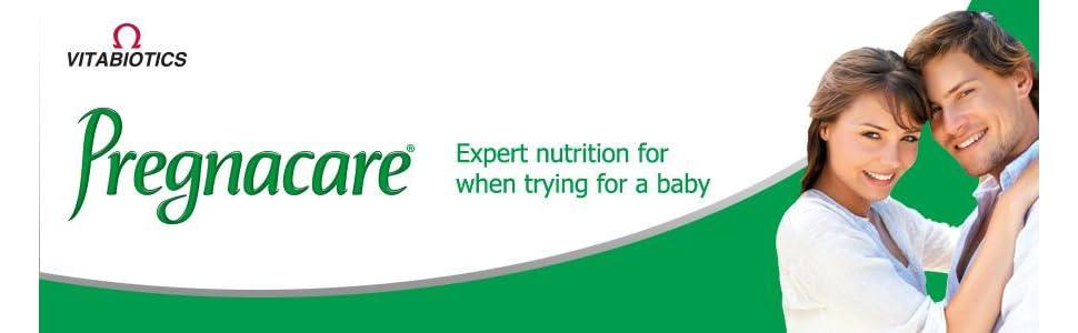 conception, pregnacare, his&hers, vitabiotics