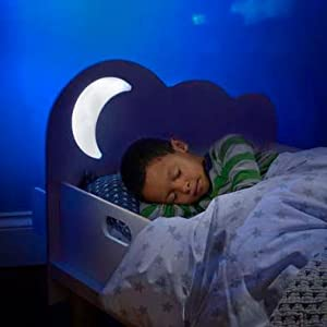 StarBright Kids Toddler Bed with Night Light Projector by ...