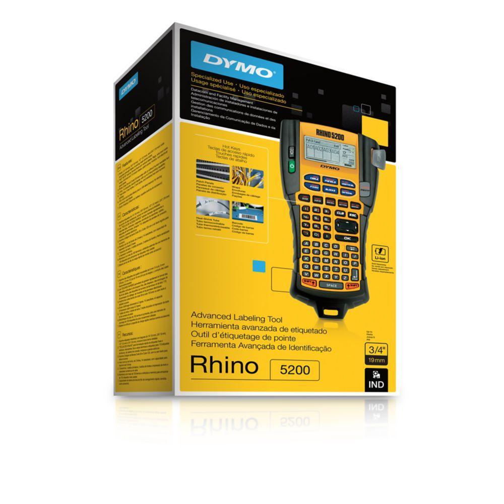 Dymo S0841460 Rhino 5200 Labelling Machine: Amazon.co.uk
