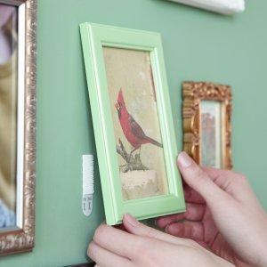 picture frame hanging;picture mounting;command;strips
