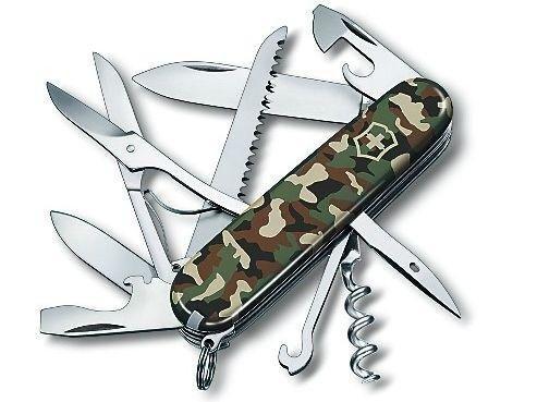 Victorinox Huntsman Swiss Army Knife Camouflage Medium