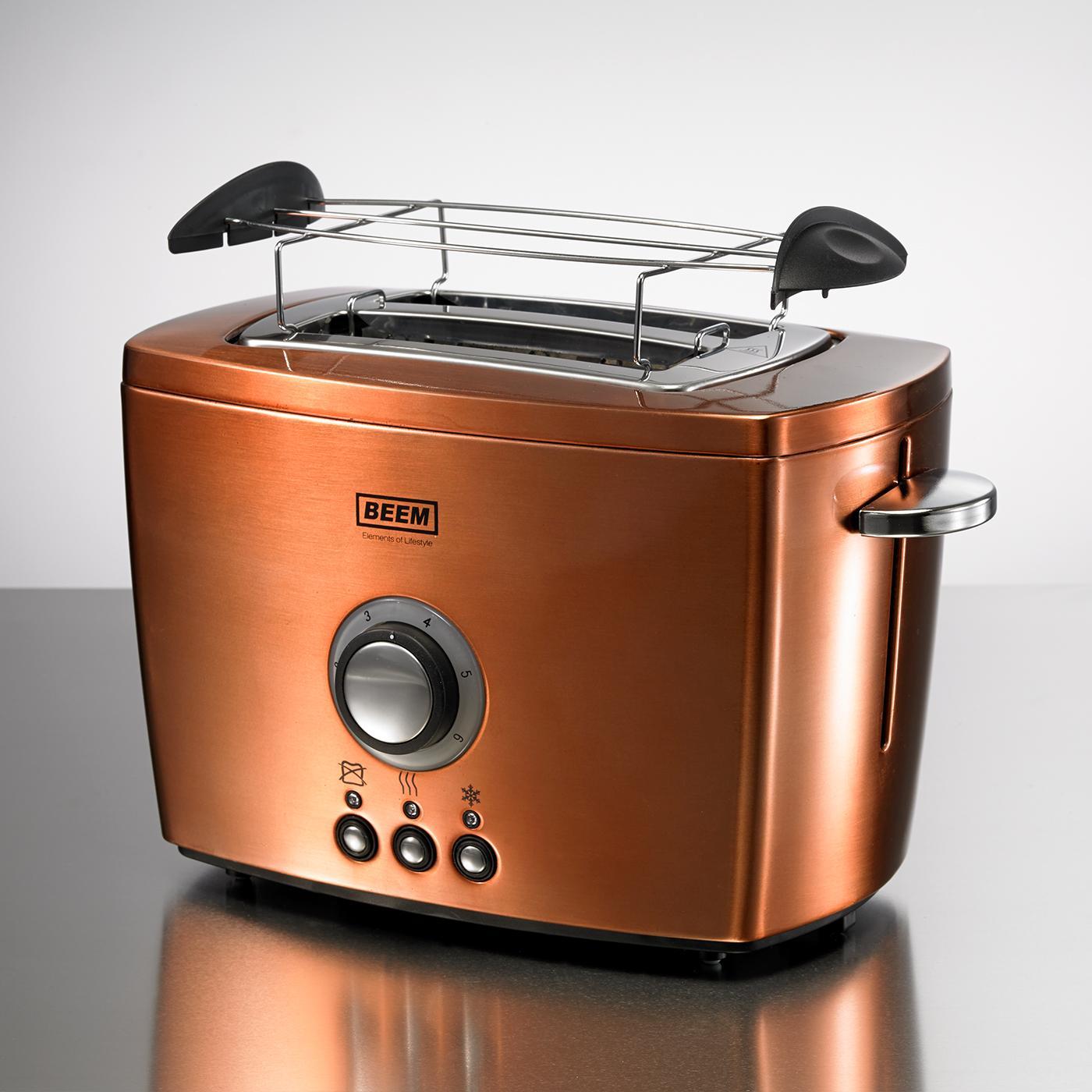 Nobilis Toaster, 800 Watt, Copper Amazon co uk Kitchen & Home