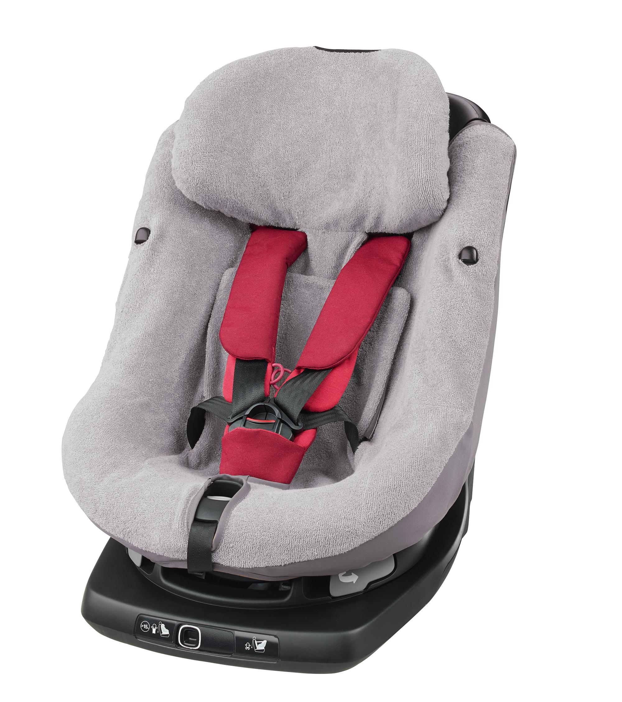 maxi cosi axissfix summer cover cool grey baby. Black Bedroom Furniture Sets. Home Design Ideas