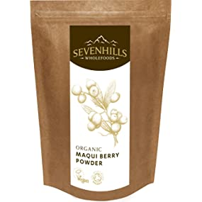 Sevenhills Wholefoods organic raw Maqui Berry Powder