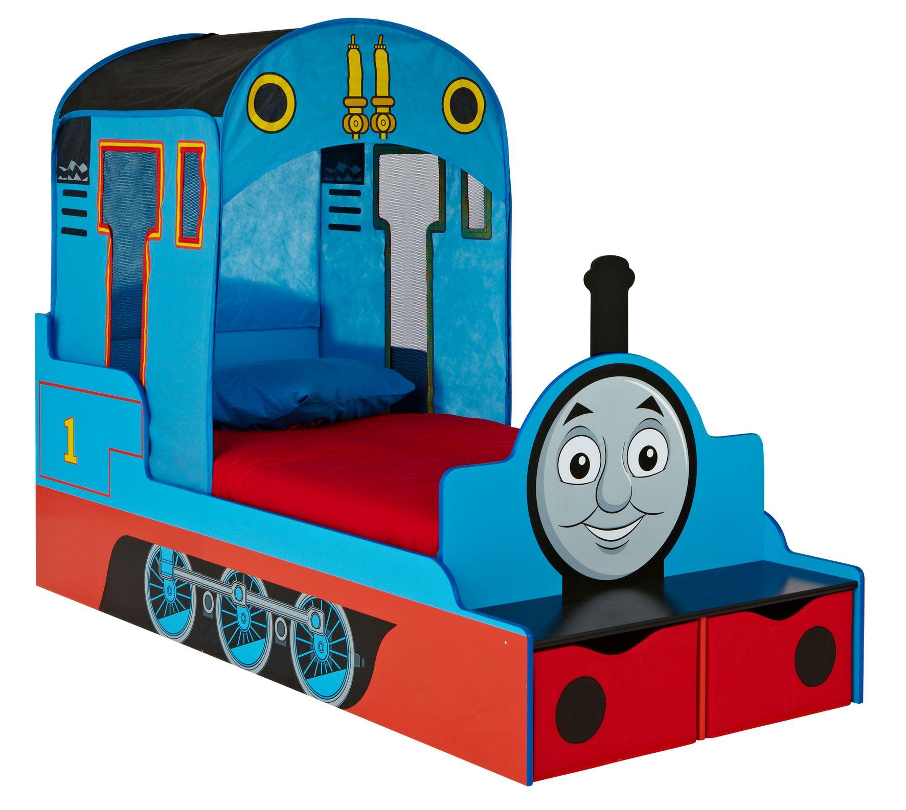 Thomas The Tank Engine Kids Toddler Bed With Underbed