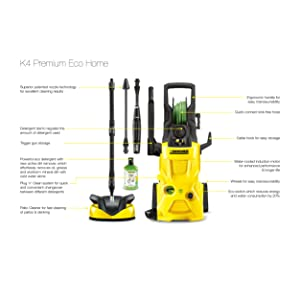 Kärcher K4 Premium Eco Home, karcher, pressure washer, k4