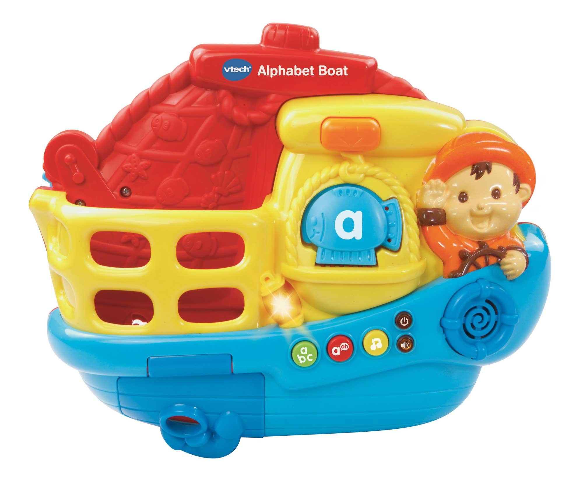 VTech Baby Alphabet Boat Bath Toy: Amazon.co.uk: Toys & Games
