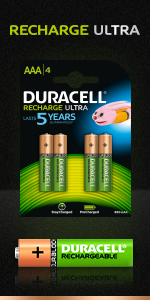 Duracell Recharge Ultra AAA
