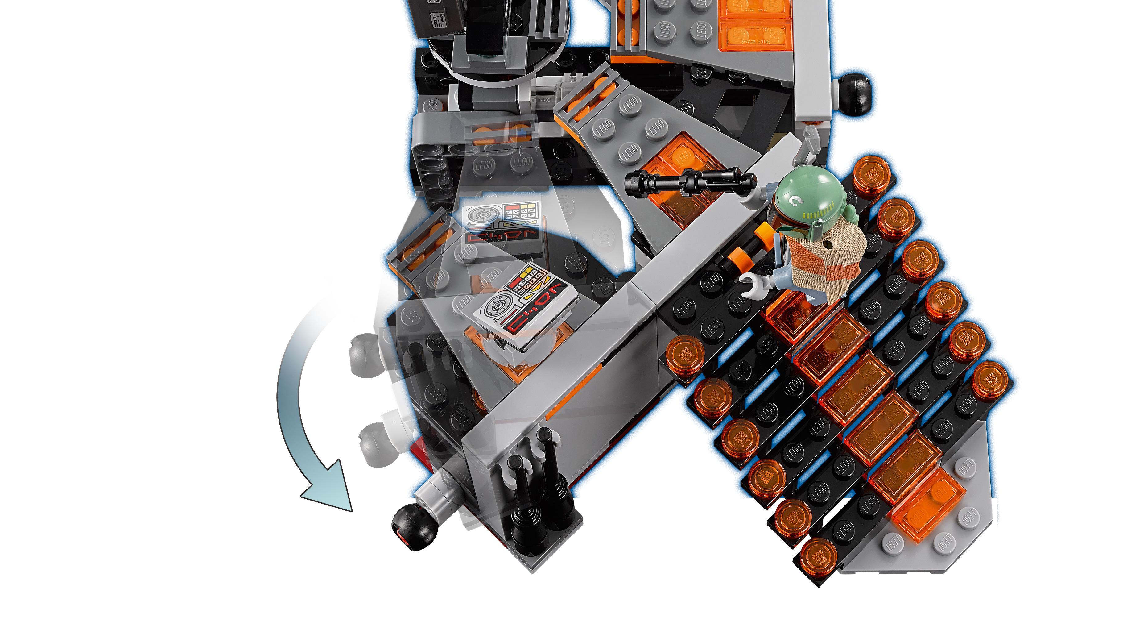 lego carbonite freezing chamber instructions