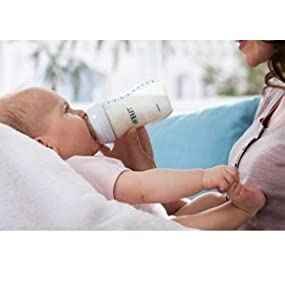 Reduce colic with fussing and gas with the Philips Avent Classic+ feeding bottle