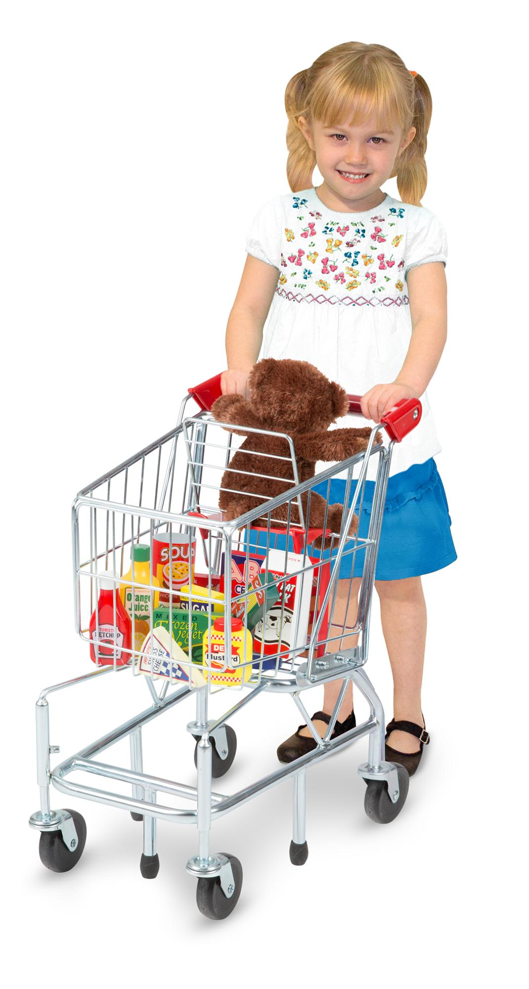 Melissa Doug Toys : Melissa doug shopping trolley with sturdy metal frame