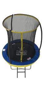 6ft Trampoline with safety enclosure netting Zero Gravity Ultima 4
