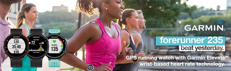 Forerunner;235;230;wrist;running;GPS;watch