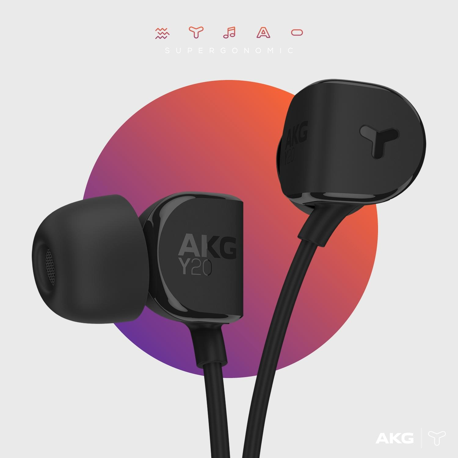 akg soft touch in ear wired headphones with universal. Black Bedroom Furniture Sets. Home Design Ideas