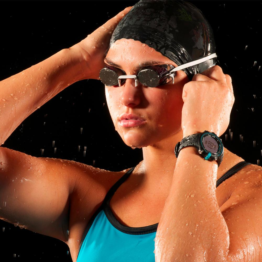 Garmin Swim World Wide Pool Swimming Watch Black Blue