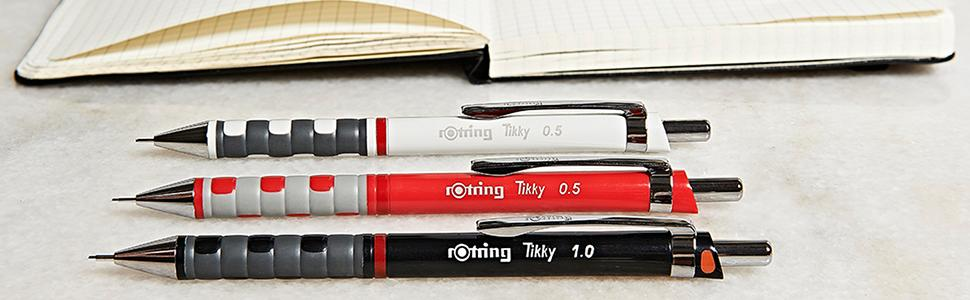 rOtring Tikky Mechanical Pencil - Banner