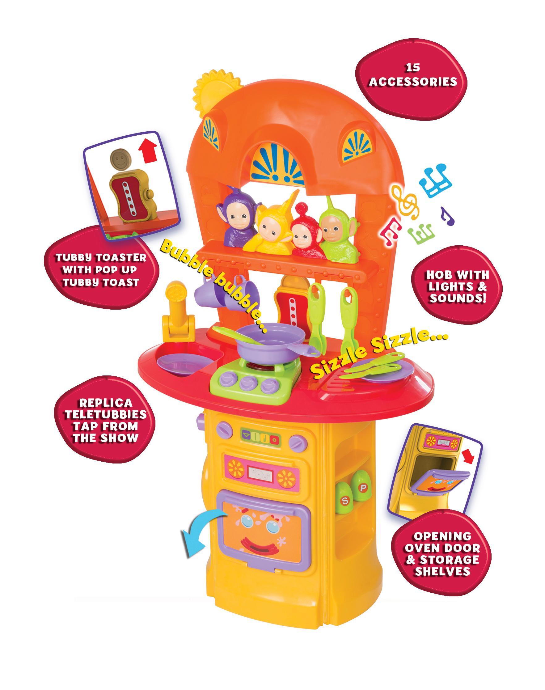 Teletubbies Light /& Sound My First Kitchen Playset