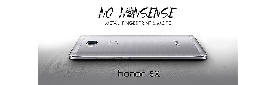 Honor 5x 5 5-Inch SIM-Free 4G Smartphone - Silver