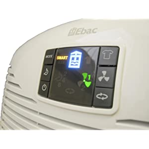 Ebac smart dehumidifier digital display